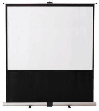 フロアスクリーン 【 選べるサイズ 60型~100型 】 【 視野角 左右45度 】 【 スクリーンゲイン 1.5 】  会議用スクリーン ミーティング用スクリーン プレゼン用スクリーン 講演室用スクリーン