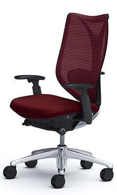サブリナ スタンダード[メッシュチェア] [選べる全14色][ブラックボディ][ハイバック][アジャストアーム(可動肘)付き][ハンガーなし・ランバーサポート付き][事務用回転椅子](C853BX)