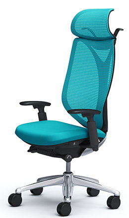 サブリナ スタンダード[メッシュチェア] [選べる全14色][ブラックボディ][エクストラハイバック][アジャストアーム(可動肘)付き][ハンガー付き・ランバーサポートなし][事務用回転椅子](C856BR)