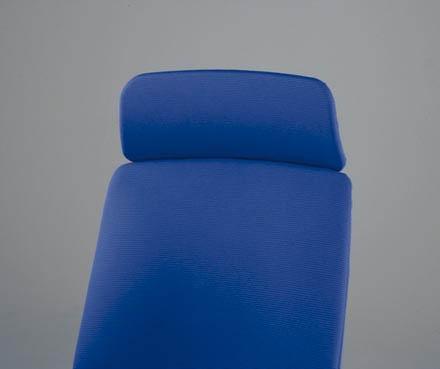 ベルガーチェア オプション 【 ヘッドレスト 】 【 布張り / 標準仕様 / 選べる 全8色のカラーバリエーション 】 事務用回転椅子 ベルガー チェア OAチェアー PCチェアー ビジネスチェアー オフィスチェアー セミオーダーチェアー