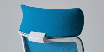 ミトラチェアー[Mitra]用 ショルダーサポート メッシュタイプ用 1個(1脚分) 選べるシェルカラー全2色 張地カラー全8色 お客様取付 ※チェアは商品に含まれておりません