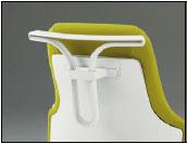 グーフォチェア専用オプション ハンガー【ホワイト色】【完成品】【チェアへはお客様取付】※チェアは商品に含まれておりません