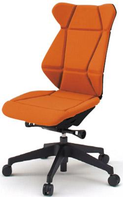 フリップフラップ(FLIP FLAP)チェア[ハイバック][ベースカラーTT][肘なし][選べる全10色][樹脂脚]オフィス,SOHO,役員室,会議室,研究室,設計事務所,IT企業,書斎向け