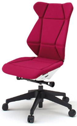 フリップフラップ(FLIP FLAP)チェア[ハイバック][ベースカラーTW][肘なし][選べる全10色][樹脂脚]オフィス,SOHO,役員室,会議室,研究室,設計事務所,IT企業,書斎向け