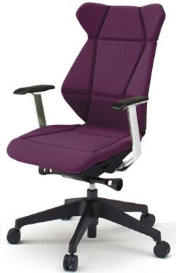 フリップフラップ(FLIP FLAP)チェア[ハイバック][ベースカラーTT][T型肘(固定)付][選べる全10色][樹脂脚]オフィス,SOHO,役員室,会議室,研究室,設計事務所,IT企業,書斎向け