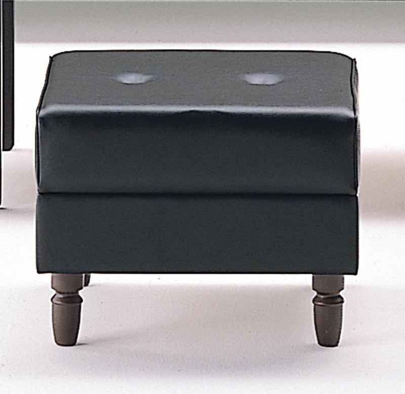 応接用 スツール 【 RP-10型 】 【 選べる張地カラー 全2色 】 ( 黒色 or 茶色 )