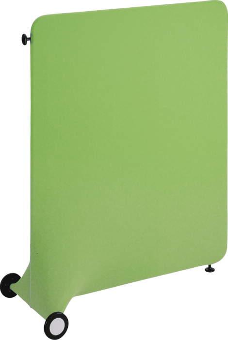 デザインスクリーン ドーム ( DOME ) 【 直線タイプ 】  W1250×D560×H1500mm ・ 7.2kg  全6色のカラーバリエーション   簡単間仕切り   可動式パーティション