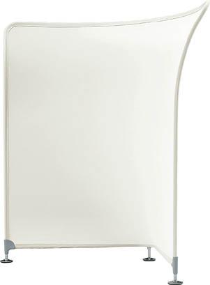 デザイン スクリーン コルテア ( COLTEA ) 【 無地 コーナータイプ 】 W962×D962×H1450  全4色のカラーバリエーション