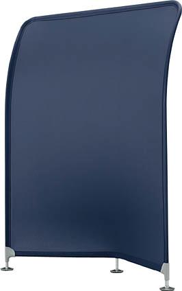 デザイン スクリーン コルテア ( COLTEA ) 【 無地 ストレートタイプ 】 W1200×D400×H1450  全4色のカラーバリエーション