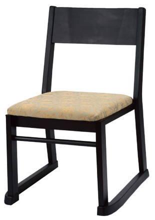 寺院向け椅子 楽座3型 SDC-RZ3[木製][スタッキング可能][コンパクト・軽量設計][完成品]寺院,神社,葬祭場,セレモニーホール向けチェア