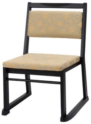 寺院向け椅子 楽座6型 SDC-RZ6[木製][スタッキング可能][コンパクト・軽量設計][完成品]寺院,神社,葬祭場,セレモニーホール向けチェア