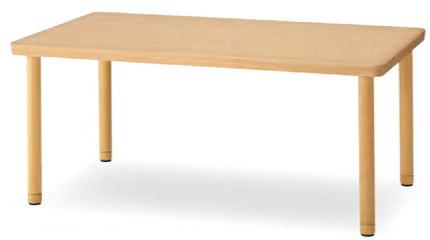 レリフテーブル[RELIFE][木製][1800W×900Dmm][スペーサー付][選べる天板カラー全2色][お客様組立]病院・医院・医療・福祉施設・デイサービス・デイケア・ショートステイ・グループホーム・介護保険施設向け