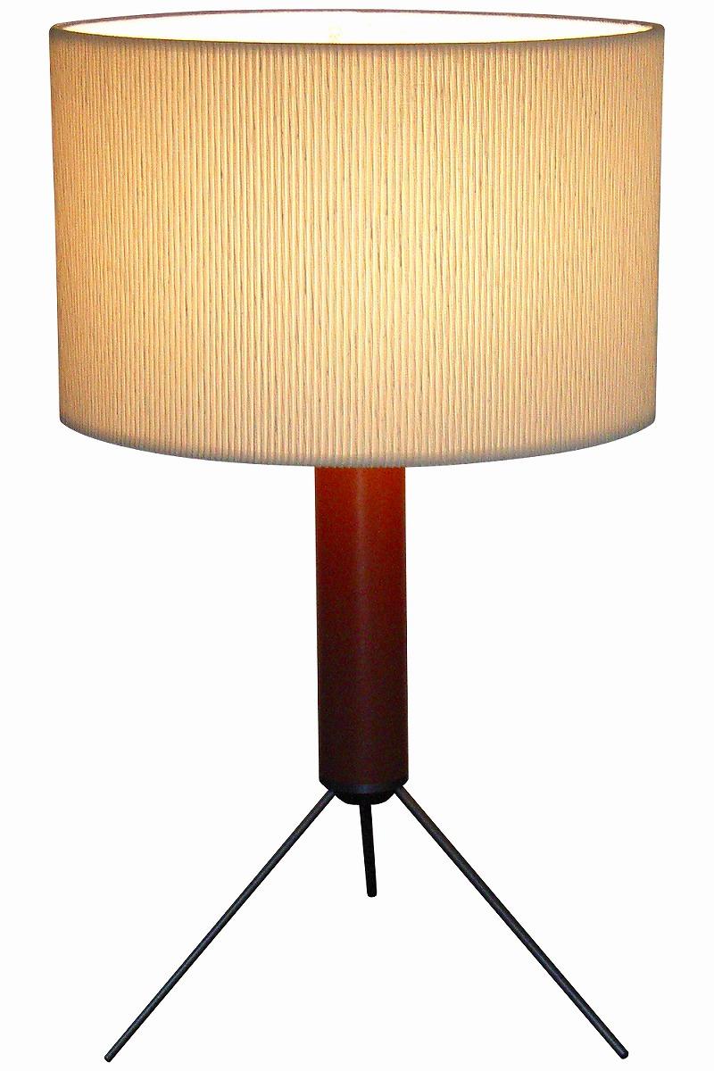 テーブルスタンド S8049A-H 【 Bean-EF ビーン 】 【 E26 電球型蛍光灯 EFA 15W型×1 (電球色) 】 【 ブラウン色 】 【 H525×WΦ315 】 【 中間スイッチ付き 】 【 省エネ 】 デスクスタンド 卓上スタンドライト dcs デザイン照明