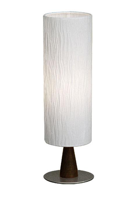 テーブルスタンド S8020A 【 WAVE-EF ウェイブ 】 【 E26 電球型蛍光灯 EFA 15W型×1 (電球色) 】 【 ホワイト色 】 【 H390×WΦ120 】 【 中間スイッチ付き 】 【 省エネ 】 デスクスタンド 卓上スタンドライト dcs デザイン照明