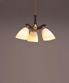ペンダント照明 C2026LE 【 sempy-LED センプ 】 【 E26 電球型LEDランプ LDA8L×3 消費電力 23.4W 】 【 ダークブラウン色 】 【 H550~900×W612 】 【 省エネ 】  dcs デザイン照明