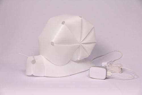 ZZZOOLIGHT Snails Family[ズーライト スネイル ファミリー][電球色][2段階調光可能][USBケーブル+ACアダプター付属][オリジナル水性ペン付属][PSEマーク取得済み]