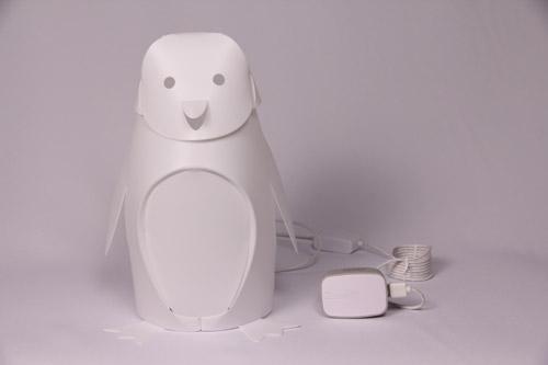ZZZOOLIGHT Penguin Family[ズーライト ペンギン ファミリー][電球色][2段階調光可能][USBケーブル+ACアダプター付属][オリジナル水性ペン付属][PSEマーク取得済み]