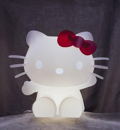 ZZZOOLIGHT Hello Kitty[ズーライト ハローキティ][電球色][2段階調光可能][USBケーブル+ACアダプター付属][PSEマーク取得済み]
