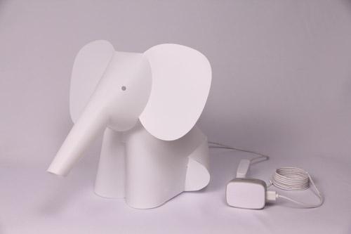 ZZZOOLIGHT Elephant Family[ズーライト エレファント ファミリー][電球色][2段階調光可能][USBケーブル+ACアダプター付属][オリジナル水性ペン付属][PSEマーク取得済み]