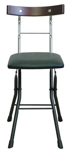 ルネセイコウ ロイドチェア LYD-30[ブラック/ブラック色][折りたたみ可能][完成品]オフィス,SOHO,美容室,飲食店,ご自宅向け