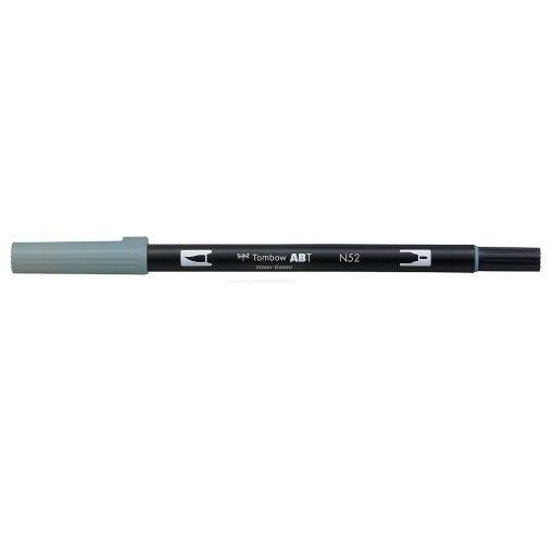 トンボ鉛筆 期間限定で特別価格 デュアルブラッシュペンABT N52 Cool Gray 8 クールグレイ8 休日