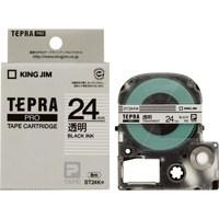 PROテープ ST24K-20 透明に黒字 24mm 20個