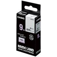 セットアップ 透明テープ XR-9X 9mm 透明に黒文字 公式