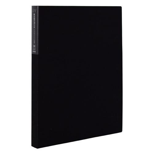 アルバムのお店オフィス31 XIV-2504-60 割引 セキセイ エクシヴ クリヤーホルダー ホルダー ファイル A4-S 大注目 ブラック 40ポケット
