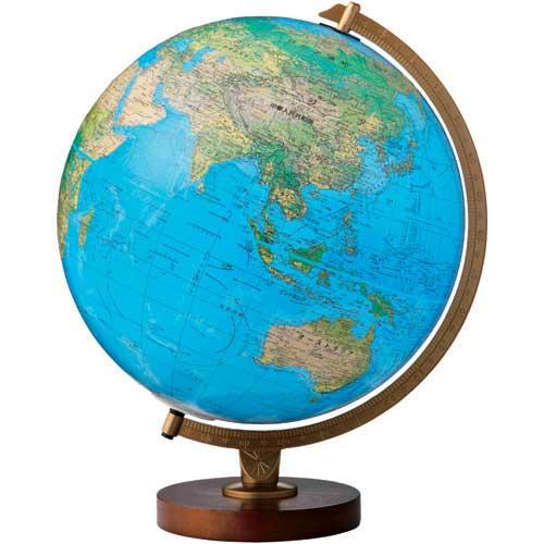 【J176657】【リプルーグル・グローブス・ジャパン】地球儀 86578 リビングストン型 青【地球儀】