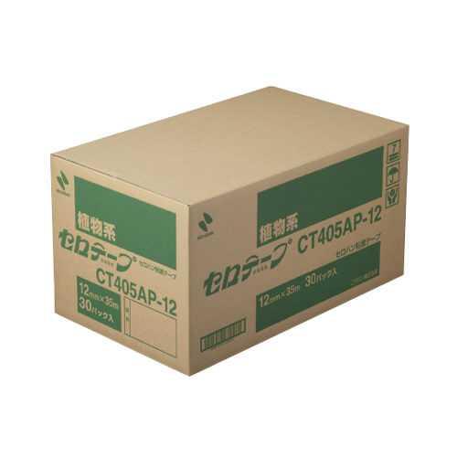 【J-184322】【ニチバン】セロテープ CT405AP-12 12mm×35m 300巻【テープ類】