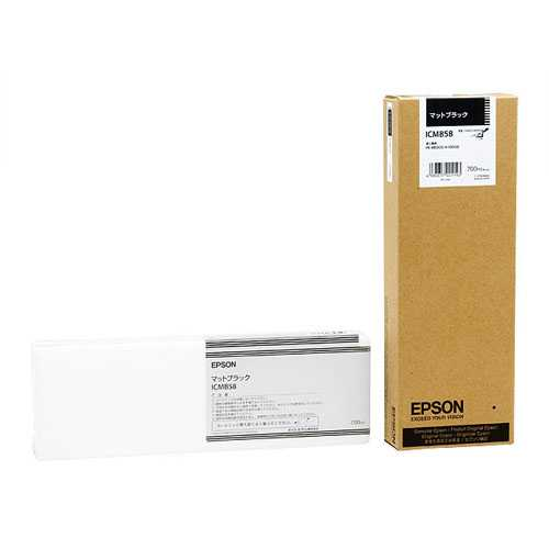【J-367436】【エプソン】大判インクカートリッジICMB58 Mブラック【インクカートリッジ】