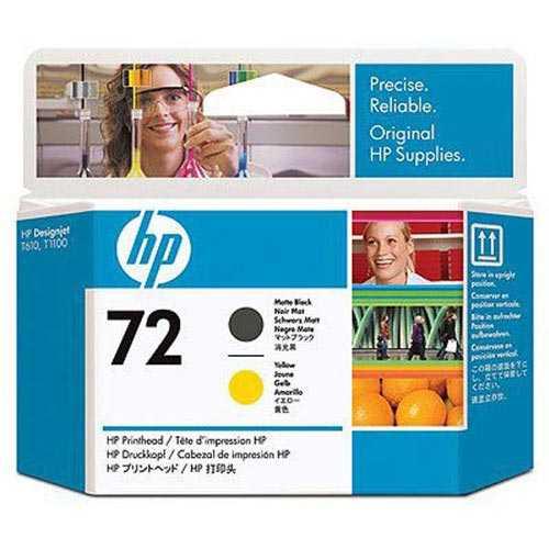 【J-367767】【HP】*プリントヘッドHP72M黒/イエロー【インクカートリッジ】