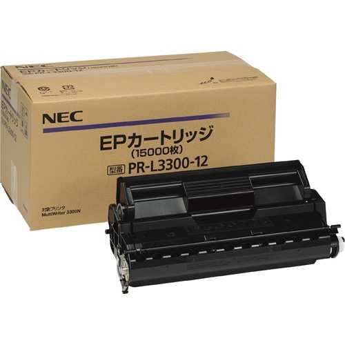 【J-335551】【NEC】トナーカートリッジ PR-L3300-12 大容量【トナーカートリッジ】