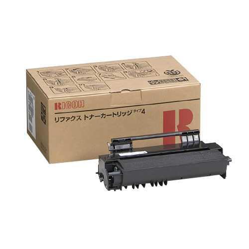 【J-149622】【リコー】ファクシミリトナーマガジン タイプ4【OA・PC】