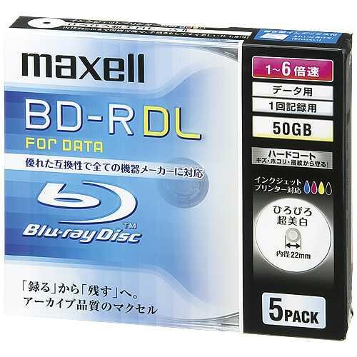 J 367632日立マクセル ブルーレイディスクBL RDL5枚BR50PWPC 5S メディア8nZN0PwOkX