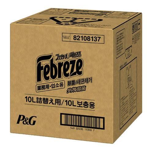 【個別送料】【J-259629】【P&G】ファブリーズ除菌プラス 10L詰換え用【衛生用品】