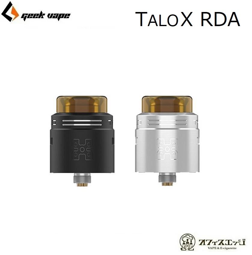 BF スコンカー対応 TALO X RDA 24mm for Geekvape 販売 タロエックス ギークベイプ 本体 アトマイザー 新品未使用正規品 タロX 電子タバコ H-83 爆煙 ベイプ vape rba geekvepe Talo