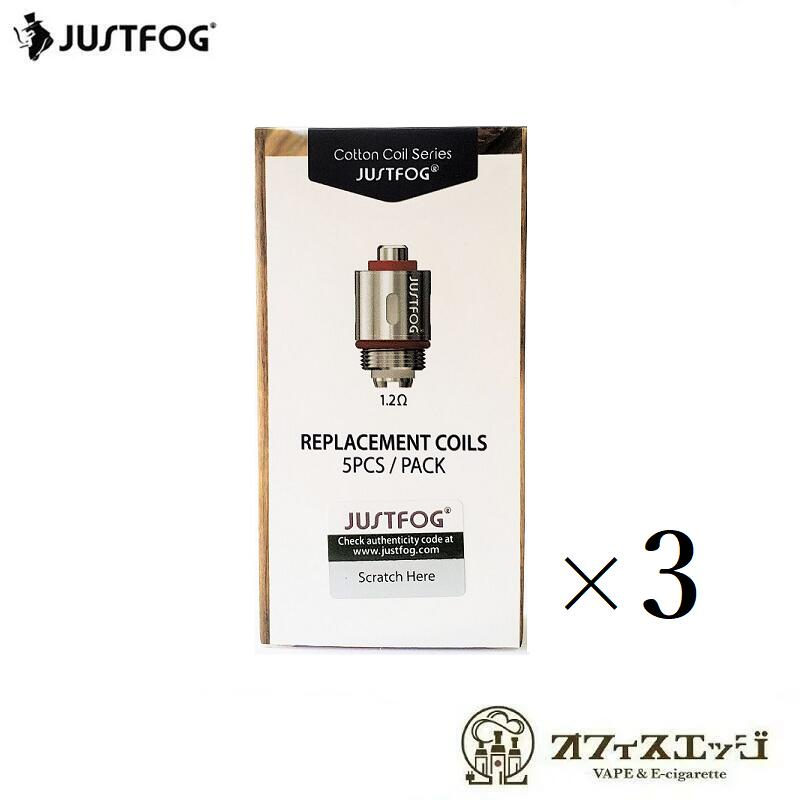 3箱セット 完全送料無料 1.2Ω Q14 Q16コイル 18%OFF JUSTFOG Compact14 Q16 交換用コイル Kit用 X-14 コイル コンパクト14 スペアコイル ジャストフォグ Compact