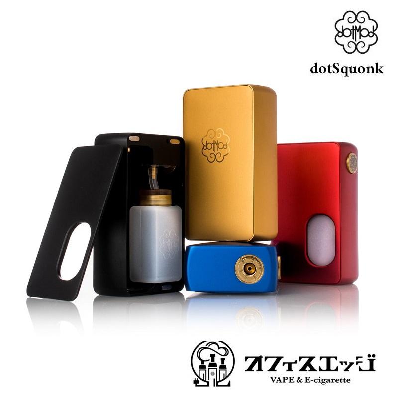 新着商品 ベイプ DotMod【dotSquonk MOD】メカニカルスコンカーMOD BF ドットモット ドットモッド ドットスコンク [X-94]