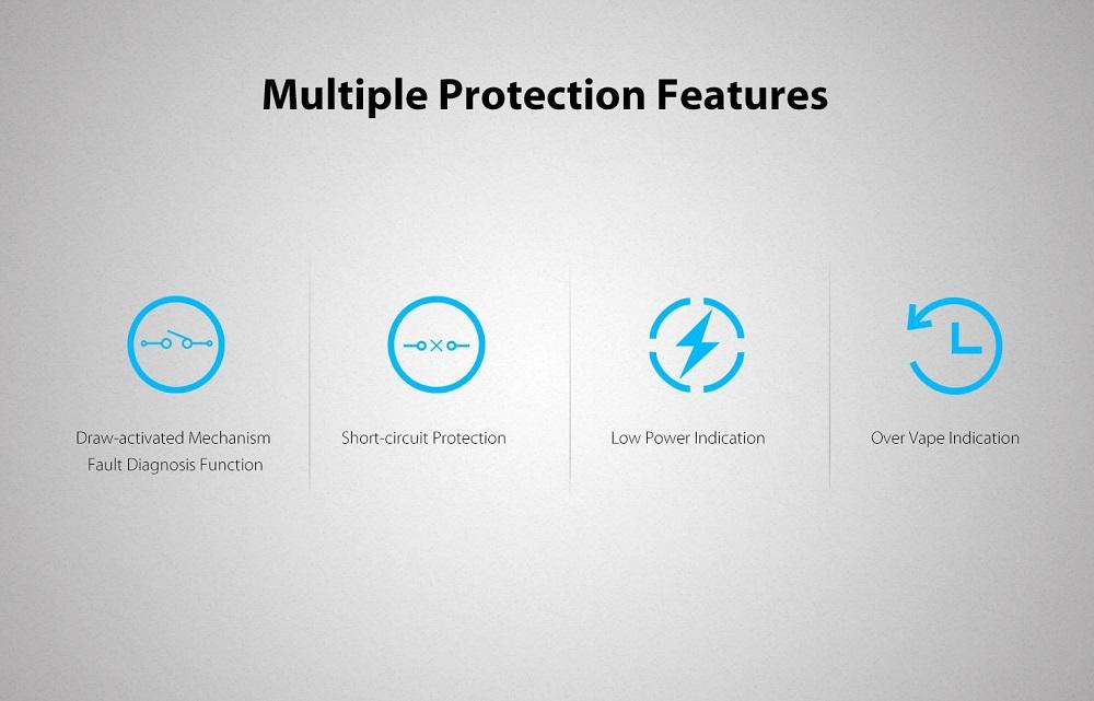 新着商品UWELL【CaliburnPortableSystemKit】520mAhvapeベイプスターターキットカリバーンポータブルシステムキットユーウェル[]