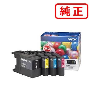 【純正インク】 LC17-4PK 大容量【4色セット】BROTHER ブラザー