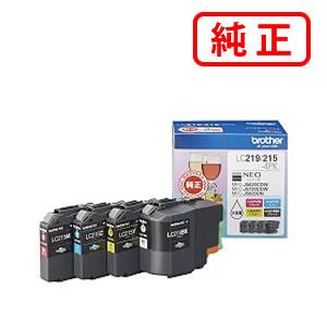 【純正インク】 LC219/215-4PK 大容量タイプ 【4色セット】BROTHER ブラザー