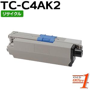 【即納品】TC-C4AK2 / TCC4AK2 ブラック (TC-C4AK1の大容量) リサイクルトナーカートリッジ
