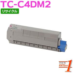 【即納品】TC-C4DM2 / TCC4DM2 マゼンタ (TC-C4DM1の大容量) リサイクルトナーカートリッジ