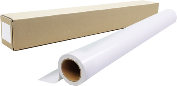 インクジェットロール紙 防炎クロスw幅1118mm(B0ノビ)×長さ30m 厚0.18mm