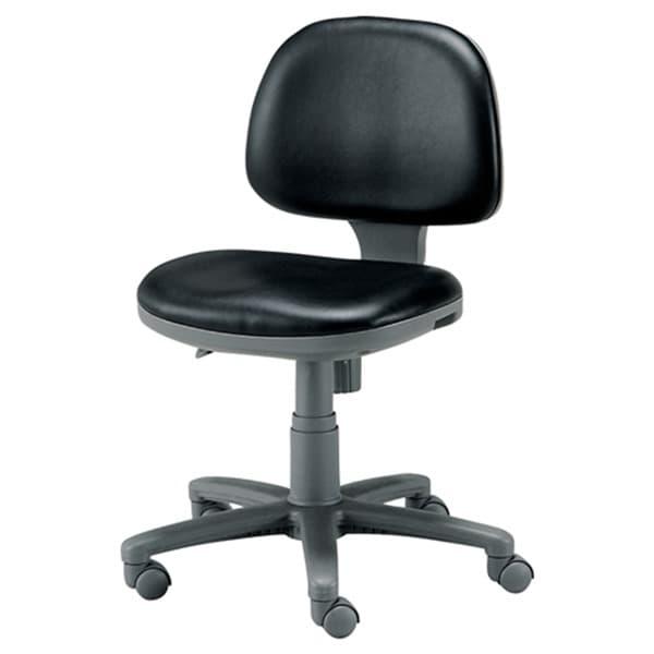ジョインテックス 事務用チェア 肘なし ブラック FT-3LN BK [オフィスチェア デスクチェア 布張り ロッキング 高さ調節 キャスター付き ワークスチェア 事務椅子 パソコンチェア 学習チェア 椅子 チェア イス オフィス家具 腰痛対策 疲れにくい おしゃれ スタンダード]