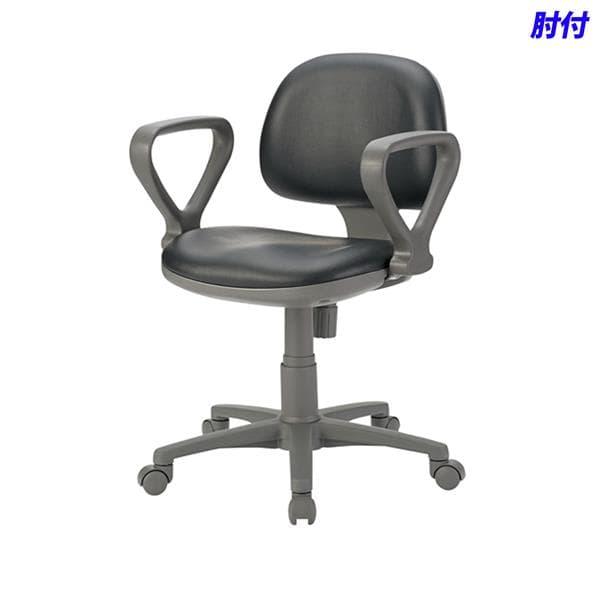 ジョインテックス 事務用チェア 肘付 ブラック FT-3PLA BK [黒色 いす オフィスチェア 事務用チェア オフィス用品 オフィス用 オフィス家具 チェア 椅子 イス 事務椅子 デスクチェア パソコンチェア]