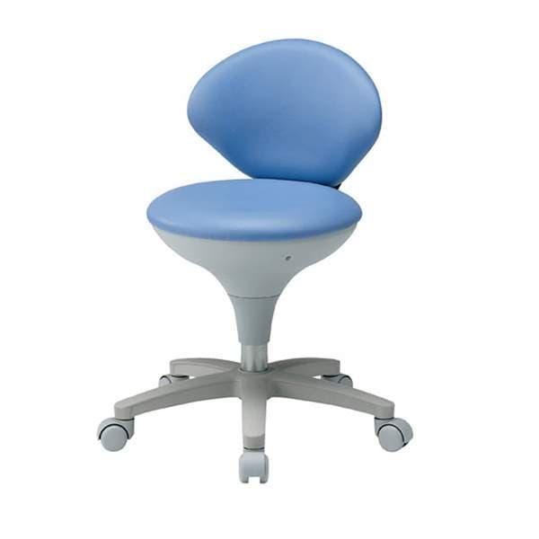 東洋工芸 ワーキングスツール ブルー WS021-VBL [いす オフィスチェア スツール 背もたれなし 事務用チェア オフィス用品 オフィス用 オフィス家具 チェア 椅子 イス 事務椅子 デスクチェア パソコンチェア]
