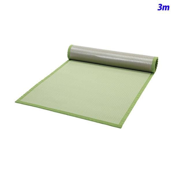 みずわ工業 洗える畳マット グリーン W900mm 長さ3m 410-005-03 [緑色 オフィスアクセサリー オフィス家具 オフィス用 オフィス用品]