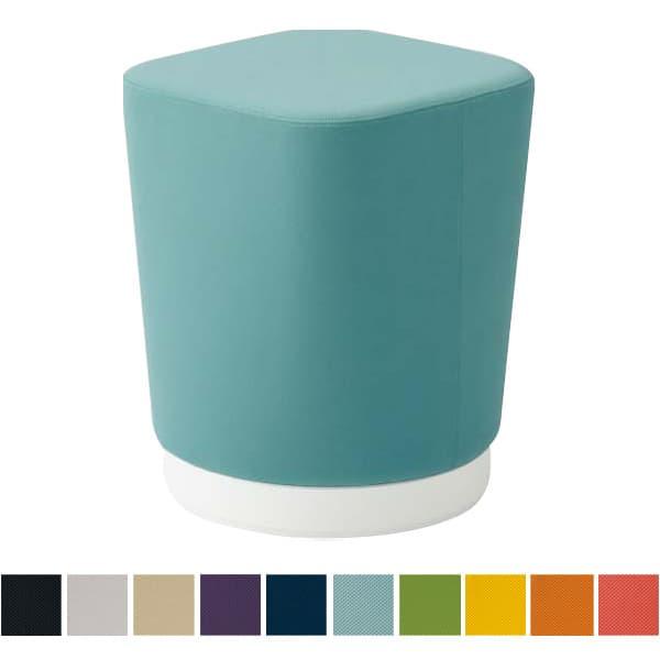 オカムラ チェア mellow(メロウ) ハイスツール(キャスターなし)ホワイト四角 プレーン [オフィスチェア スツール 背もたれなし 事務用チェア オフィス家具 チェア 椅子 イス 事務椅子 デスクチェア パソコンチェア]